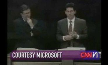 Kereken 20 éve fagyott le a Windows 98 bemutató közben