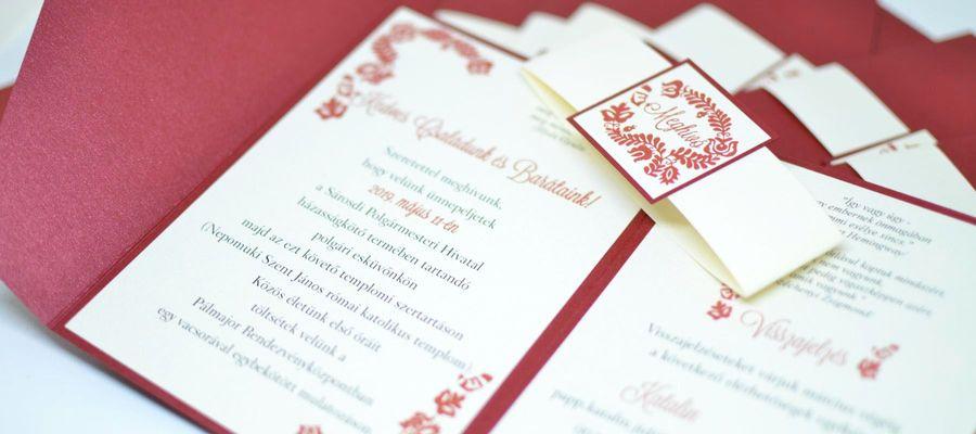 Az esküvői meghívó titkos infói